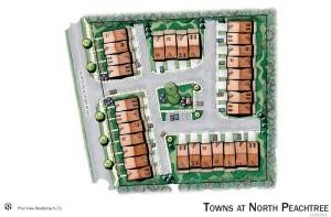 TownsAtNorthPeachtree_Siteplan1